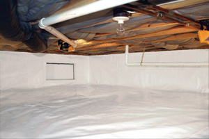 Crawl Space Repair After in Bear