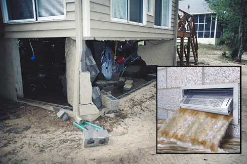 Foundation Flood Vent Contractor In Wilmington Bear