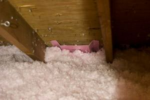 New Insulation installed in New Castle attic