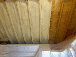 Spray Foam Insulation Installed In Bear